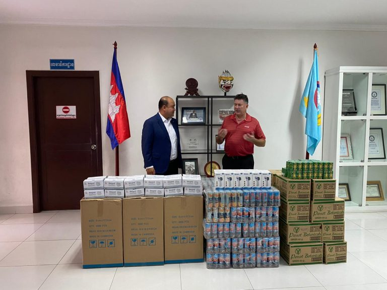 Coca-Cola Supporting Cambodian COVID-19 Response through 200 thousand USD donation